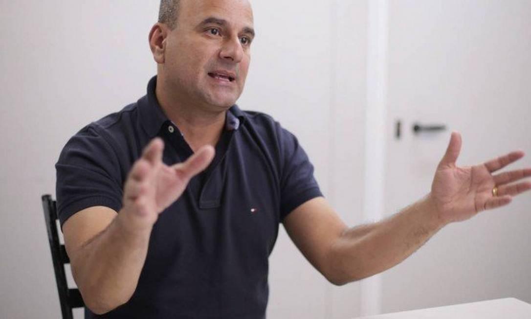 O prefeito de Belford Roxo, Waguinho (MDB) Foto: Cléber Júnior / Agência O Globo