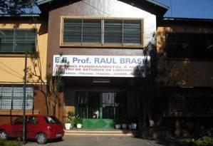 Escola Professor Raul Brasil, em Suzano, onde ocorreu atentado Foto: Reprodução Facebook