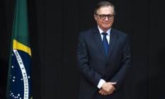 O ministro da Educação Ricardo Vélez Foto: Marcelo Casal Jr. / Agência O Globo