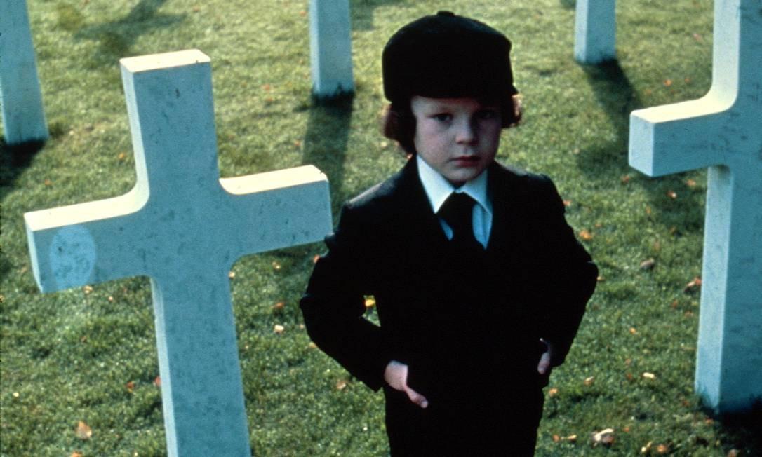 Também da década de 1970, o pequeno Damien, de 'A profecia', é o próprio filho do Satanás Foto: Divulgação