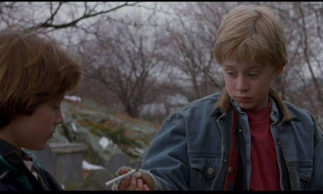 Bem mais recente, de 1993, o filme 'O anjo malvado' apresenta Macaulay Culkin na pele de um perverso menino que de angelical só tem o rosto Foto: Divulgação