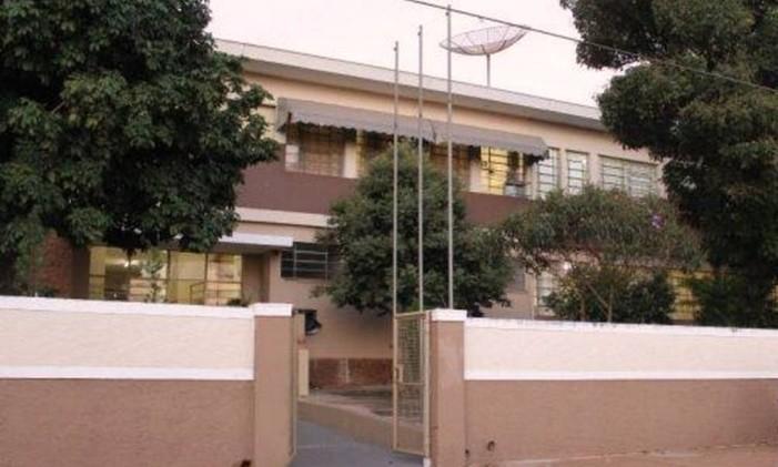 Escola Estadual Coronel Benedito Ortiz, em Taiúva (SP) Foto: Reprodução