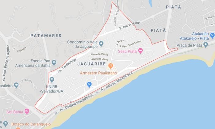 Colégio particular Sigma ficava localizado no bairro Jaguaribe, em Salvador (BA) Foto: Reprodução