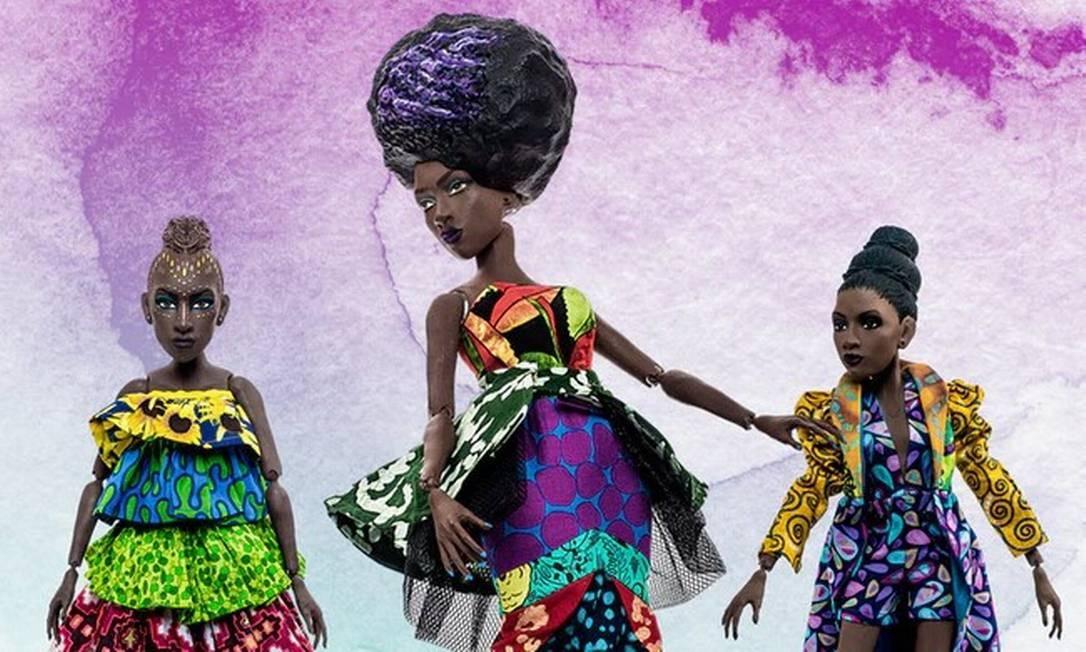 Maior festival de inovação do mundo apresentou plataforma que une tecnologia e storytelling imersivo para ajudar as meninas a serem mais autoconfiantes. projeto já tem bonecas negras à venda Foto: Divulgação