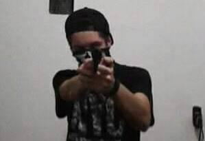 Foto de Guilherme Taucci Monteiro, de 17 anos, um dos atiradores de Suzano, reproduzida de sua página no Facebook Foto: Reprodução/Facebook