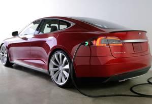 Model S, da Tesla Foto: Divulgação