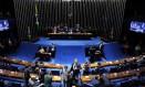 Plenário do Senado: aprovação do cadastro positivo automático. Foto: Jorge William / Agência O Globo