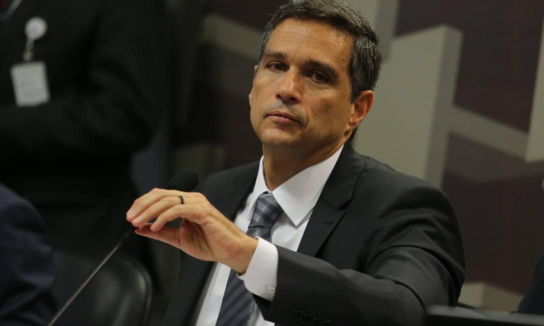 Roberto Campos Neto, novo presidente do BC. Foto: Jorge William / Agência O Globo