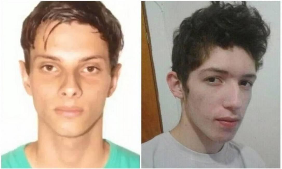 Guilherme Taucci Monteiro, de 17 anos, e Luiz Henrique de Castro, de 25 anos Foto: Reprodução