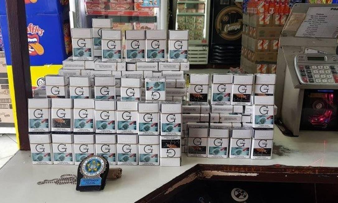 Cigarros contrabandeados. Foto: Arquivo