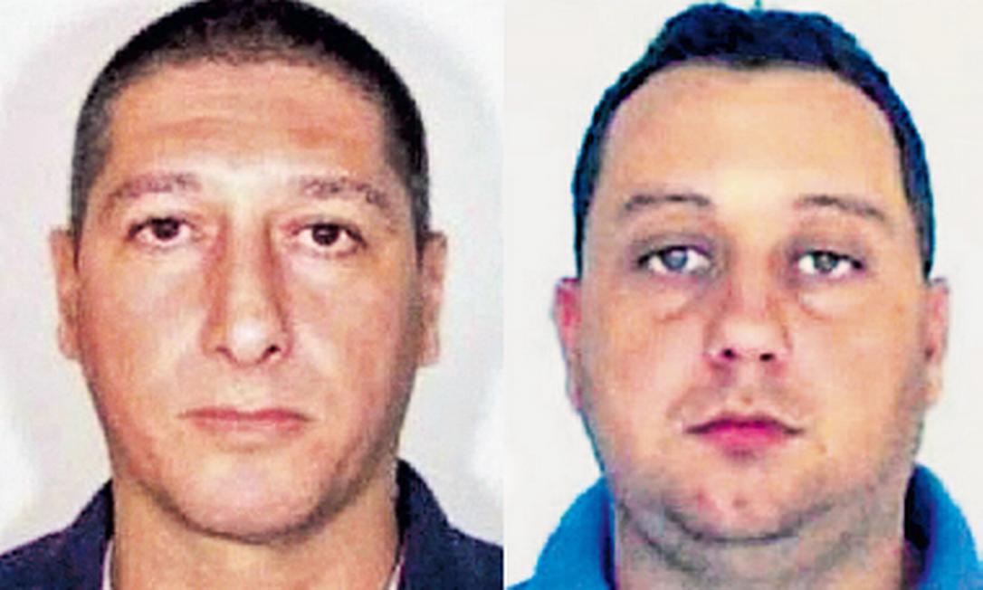 Através de dados extraídos dos celulares, polícia acredita que Ronnie Lessa (esquerda) e Élcio Queiroz (direita) estiveram juntos no dia da morte de Marielle Foto: Reprodução
