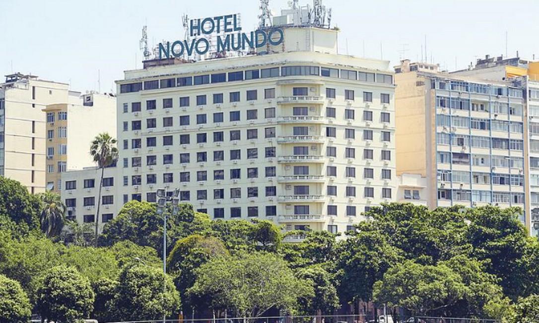 Hotel no Flamengo foi inaugurado em 1950 para receber delegações da Copa do Mundo Foto: Gabriel de Paiva / Agência O GLOBO