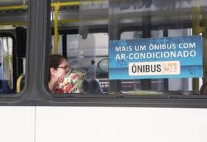 O descumprimento dos prazos de climatização da frota também é citado na ação Foto: Marcos Ramos / Agência O Globo