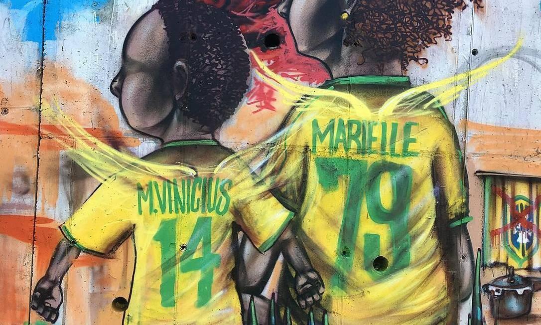 Lisboa, Portugal. Obra de junho de 2018, por Grupo OPNI (brasileiro). Instagram @grupoopni Foto: Reprodução