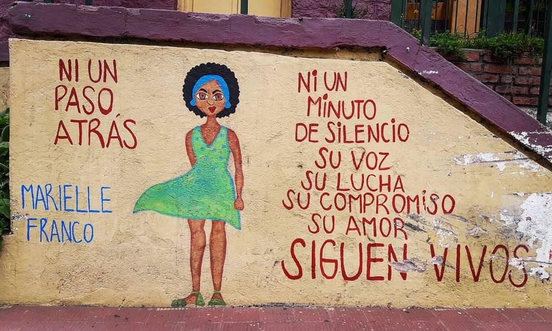 Rio Ceballos, Argentina. Data e artista não identificado. Foto: Reprodução