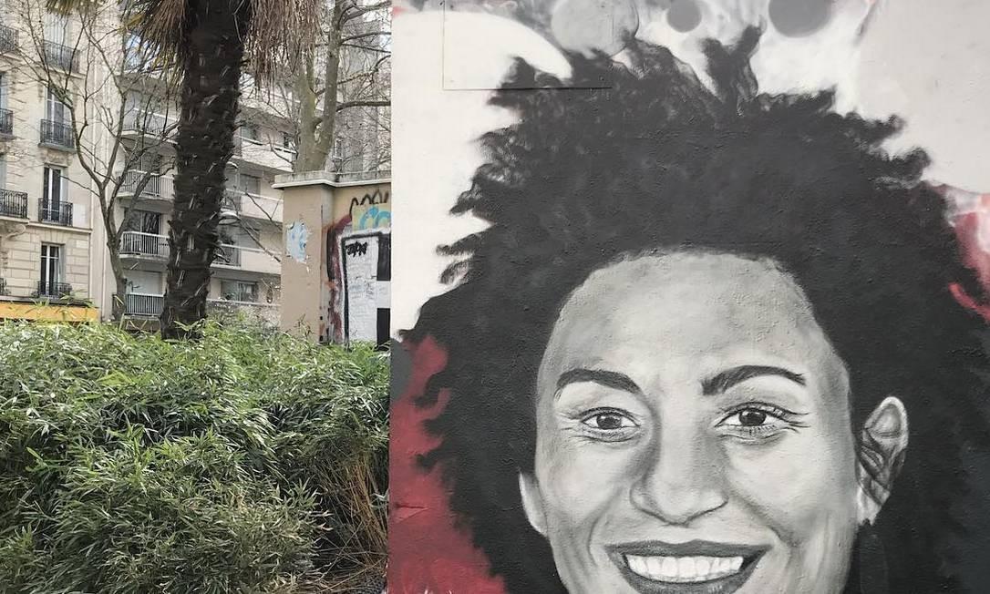 Paris, França. Obra de março de 2018, por Sept. Instagram @sept_spray_paint Foto: Reprodução