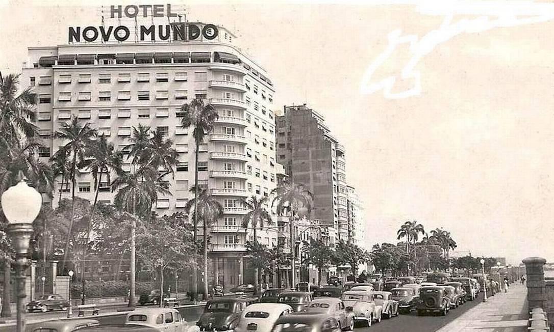 Foto do hotel na década de 1950, quando foi inaugurado Foto: Divulgação
