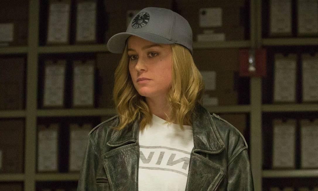 Brie Larson como 'Capitã Marvel' Foto: Divulgação