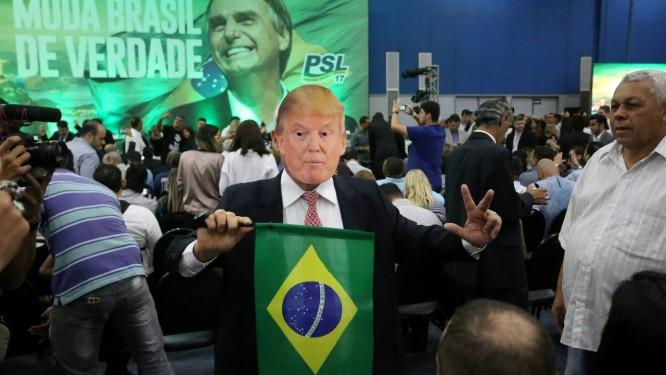 Bolsonaro ficará até terça-feira 19 nos Estados Unidos Foto: Guilherme Pinto / Agência O Globo