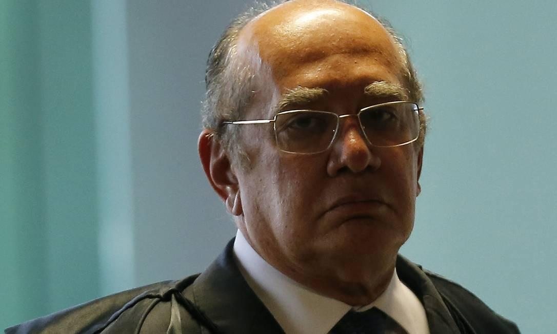 Advogados citam casos em que Mendes proferiu julgamento quando era suspeito na causa Foto: Jorge William / Agência O Globo