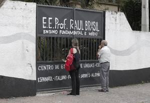 Escola Estadual Professor Raul Brasil. Foto: Edilson Dantas / Agência O Globo