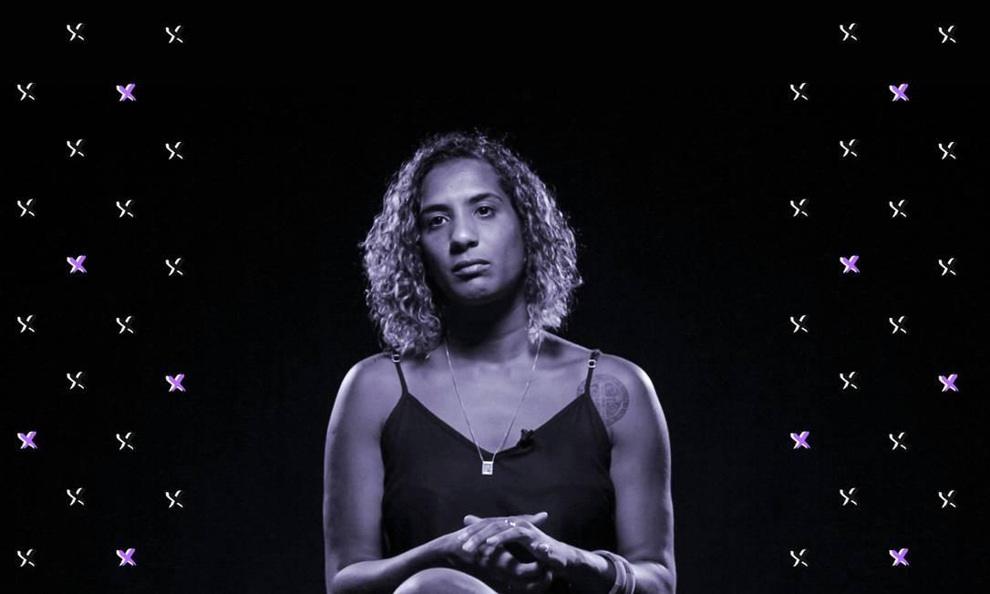 Anielle, irmã da vereadora Marielle Franco Foto: Arte de Luiz Lopes