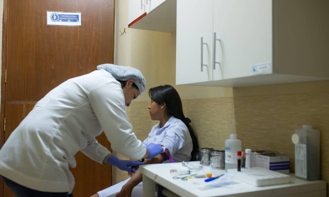 Ensaio clínico foi conduzido em colaboração com a Fundação de Estudos Científicos e de Saúde para o Desenvolvimento da Saúde e Meio Ambiente, em Cochabamba, Bolívia Foto: Ana Ferreira/ DNDi/ Divulgação
