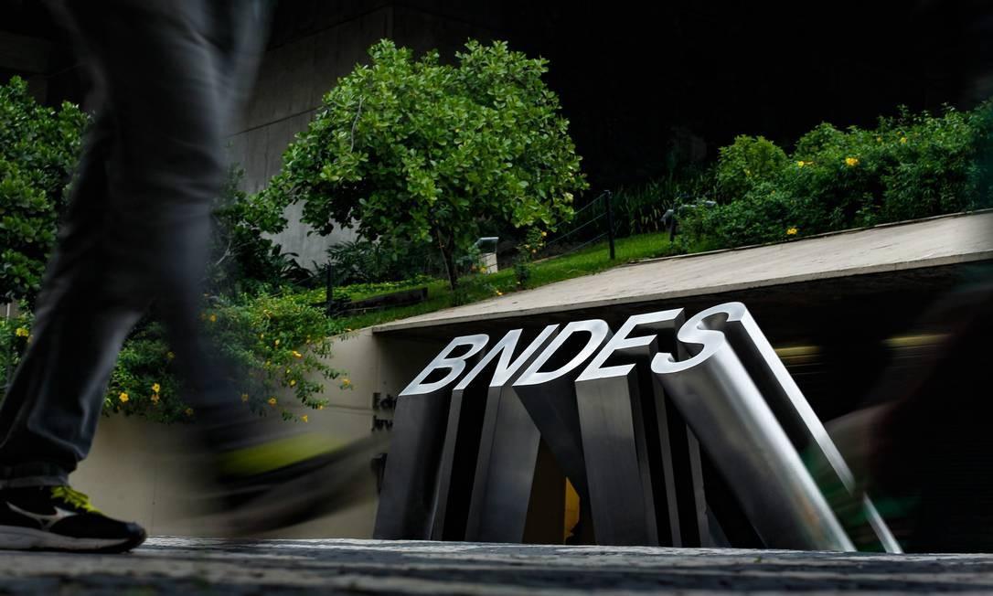 Fachada do BNDES Foto: Pedro Teixeira / Agência O Globo