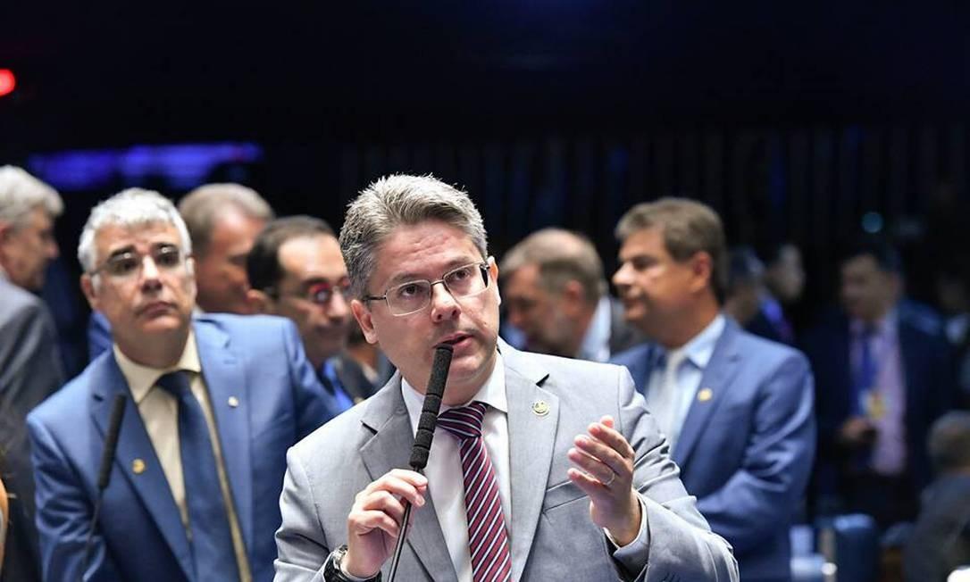 Alessandro Vieira, no Senado Foto: Reprodução / Facebook