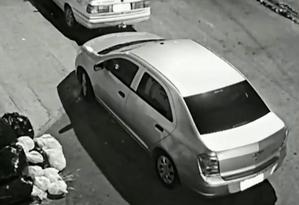 Cobalt prata, utilizado pelos assassinos de Marielle, que a polícia acredita serem Élcio Queiroz (motorista) e Ronnie Lessa (atirador) Foto: Reprodução