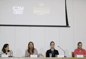Eliane, Simone, Letícia e Elisa Fraga Foto: Gabriel Paiva / Agência O Globo
