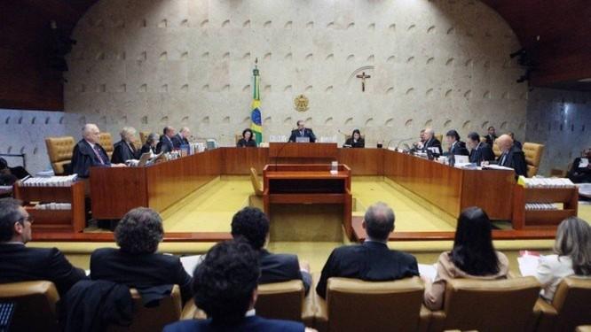 Sessão do Supremo Tribunal Federal (STF) Foto: Carlos Moura / STF