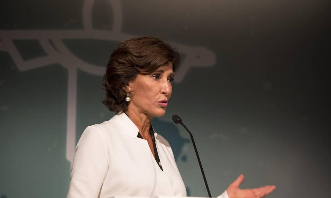 Maria Silvia: no conselho do Goldman Sachs. Foto: Parceiro / Agência O Globo