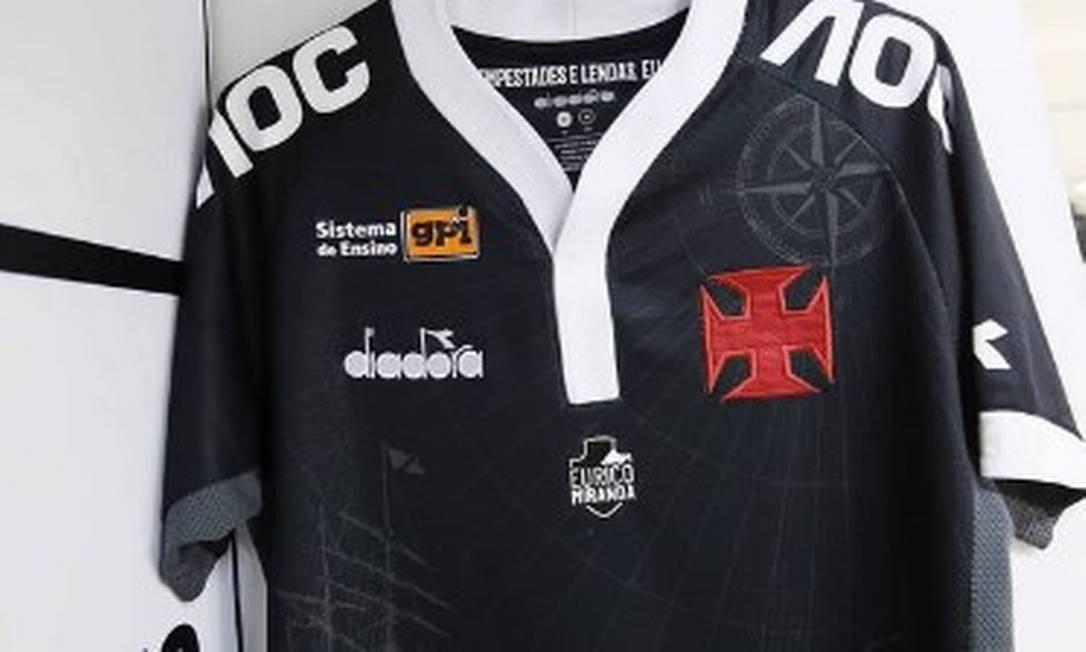 Eurico Miranda será homenageado na camisa do Vasco Foto: Reprodução
