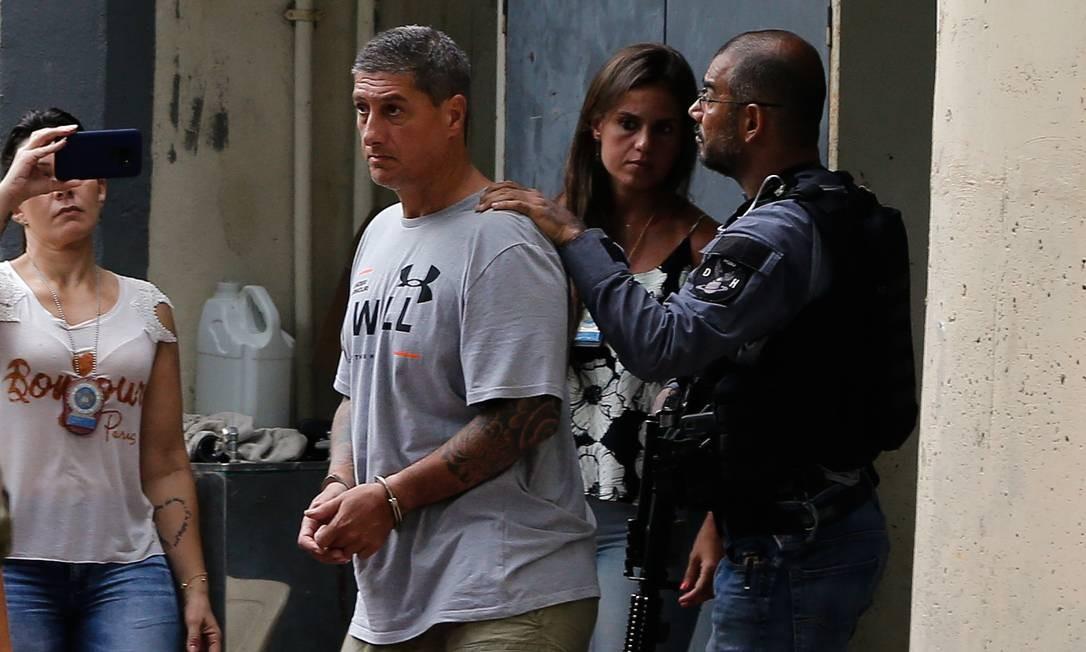 Ronnie Lessa é apontado pela Polícia Civil e pelo MP como o autor dos disparos que mataram Marielle Foto: Pablo Jacob / Agência O Globo