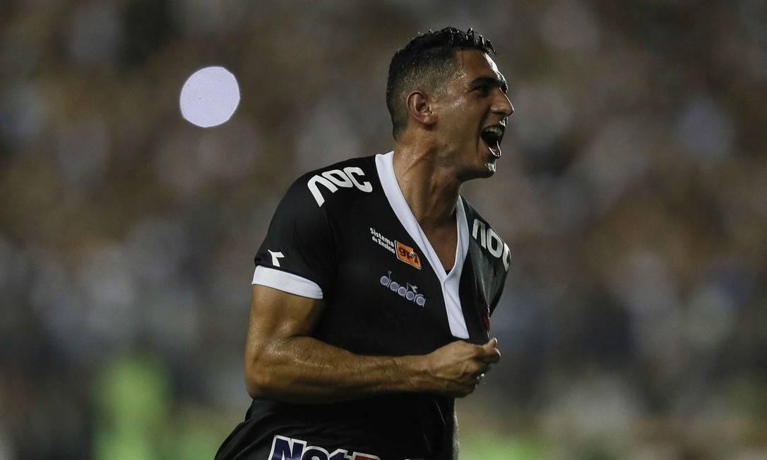 Danilo Barcelos comemora o primeiro gol do Vasco Foto: Rafael Ribeiro/Vasco