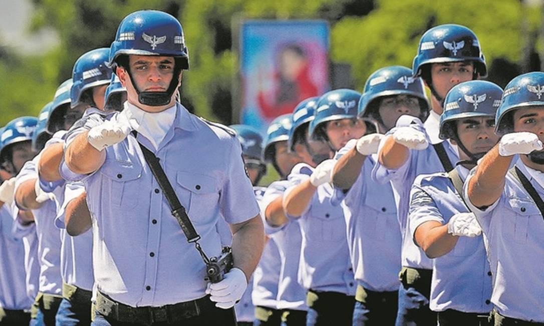 Reforma da Previdência: proposta para militares será entregue pelo governo na próxima semana Foto: Pablo Jacob - Agência O Globo
