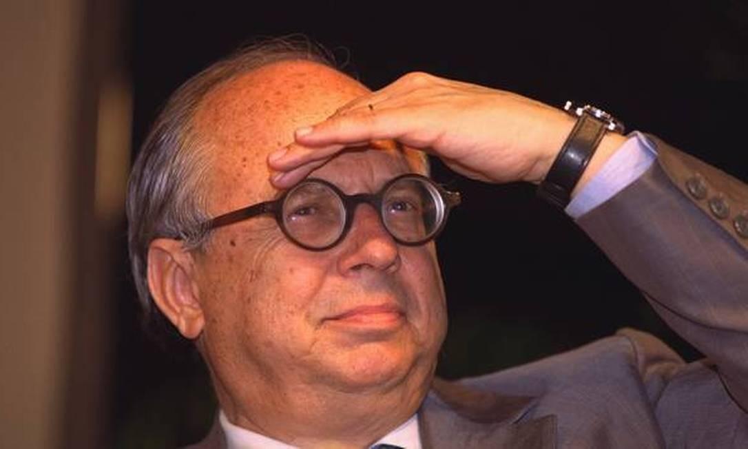 Marcílio Marques Moreira, diplomata, foi ministro da Fazenda no fim do governo Collor Foto: Agência O Globo