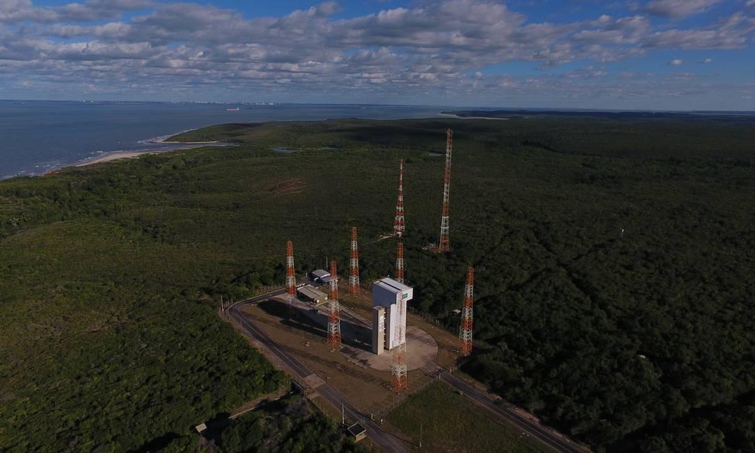 Centro de Lançamento de Alcântara é a denominação da segunda base de lançamento de foguetes da Força Aérea Brasileira — impasse Foto: Divulgação
