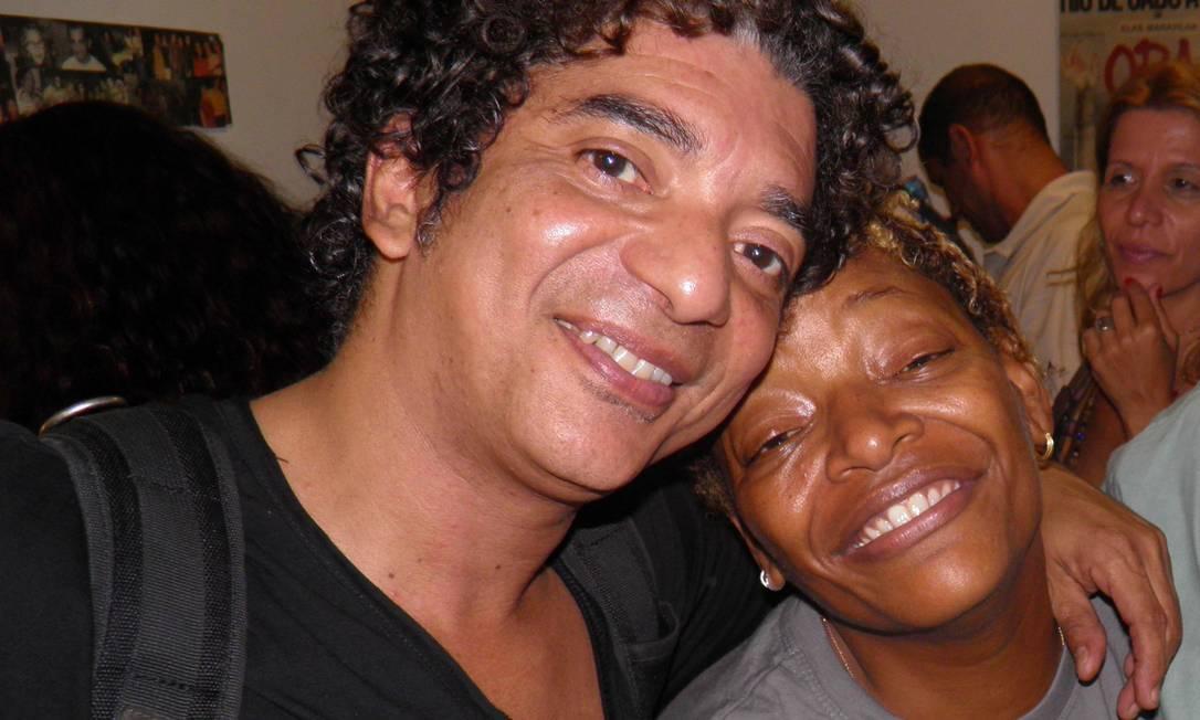 Arthur Maia e Mart'nália em 2012: parceria antiga Foto: Leo Souza / Divulgação