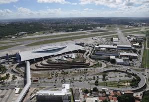 Aeroporto de Recife estava incluído no Bloco Nordeste Foto: Arquivo