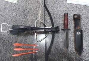 Professor entrou armado em prédio da Secretaria de Educação do DF Foto: Divulgação/Polícia Militar do Distrito Federal