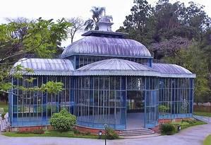 O Palácio de Cristal receberá culto e recreação infantil Foto: Divulgação/prefeitura