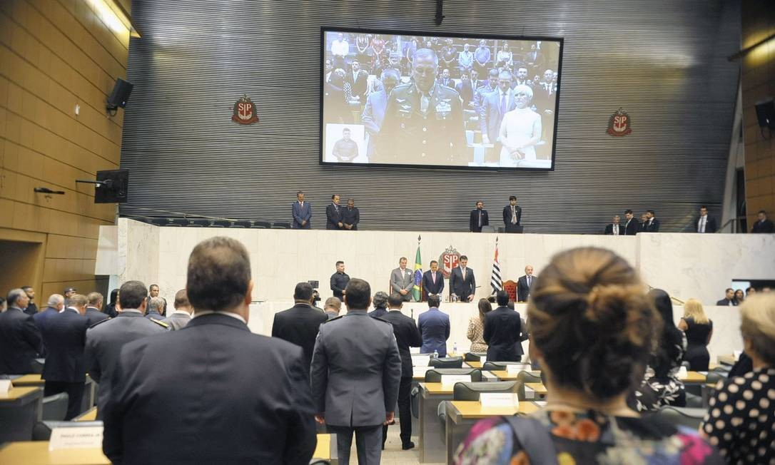 Deputados tomam posse na Assembleia de São Paulo Foto: Divulgação