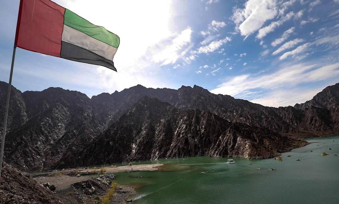 Lago artificial no parque nacional Foto: KARIM SAHIB / AFP