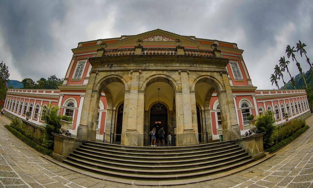 Museu Imperial não tem espaço de recepção Foto: Marcelo de Jesus / Agência O Globo