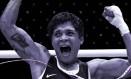 A boxeadora Adriana Araújo, bronze em Londres-2012, na primeira edição feminina do esporte Foto: Arte sobre foto