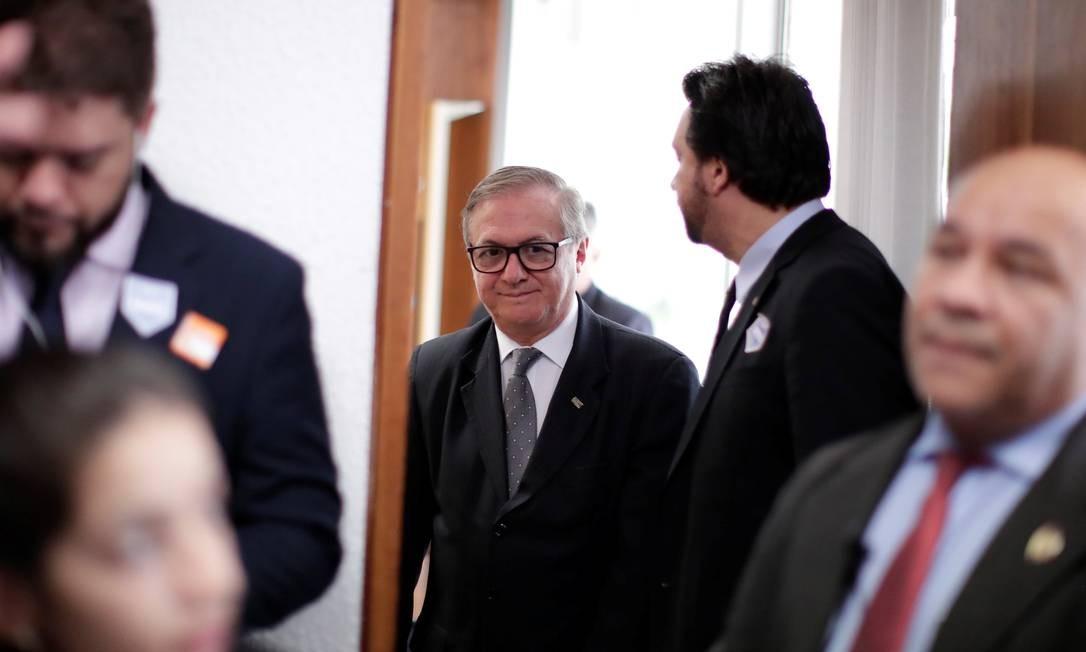 O ministro da Educação, Ricardo Velez Rodriguez 26/02/2019 Foto: UESLEI MARCELINO / REUTERS