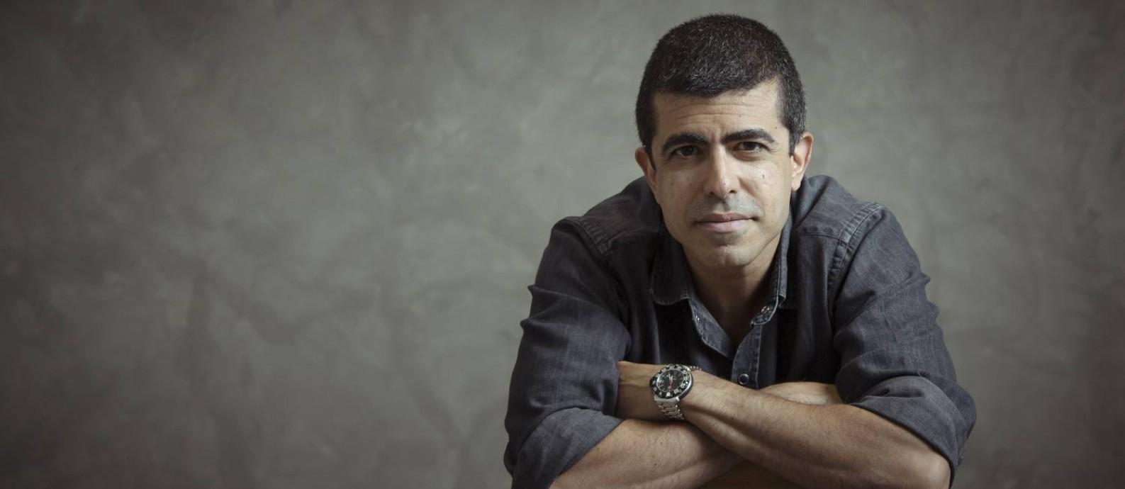 À frente do humor na Globo, Marcius Melhem afirma que sua equipe de comediantes defende valores humanistas Foto: Leo Martins / Agência O Globo