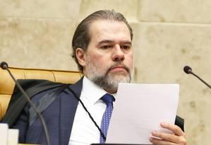 O presidente do STF, ministro Dias Toffoli, atendeu a um pedido da OAB Foto: Ailton de Freitas / Agência O Globo